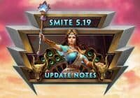 SMITE – 5.19 Patch Notes | Queen of the Gods