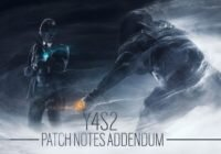Rainbow Six: Siege – Y4S2 Patch Notes | Operation Phantom Sight