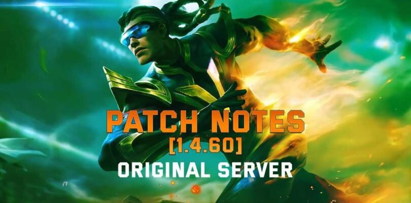 Mobile Legends – 1.4.60 Patch Notes | New Hero ATLAS The Ocean Gladiator