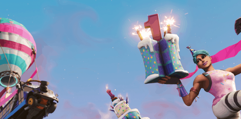 Fortnite – First Birthday Giveaway !