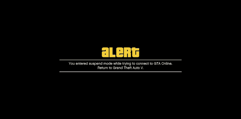 GTA 5 – Online Connection Troubleshooting
