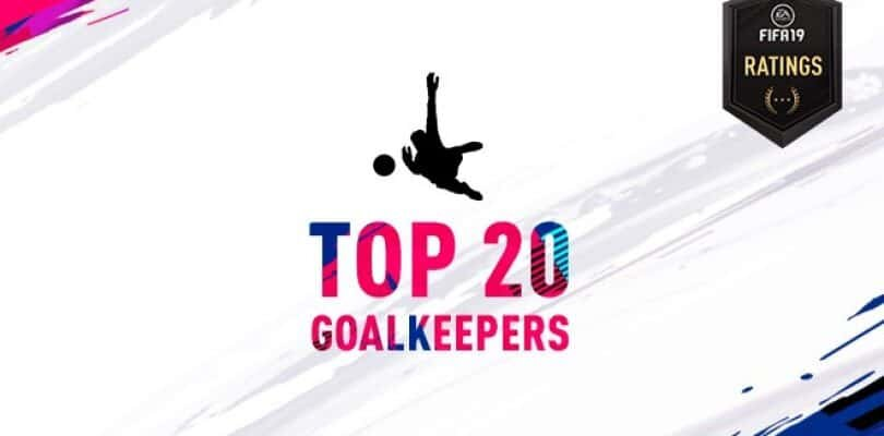 Fifa 19 – Best 20 Goalkeepers