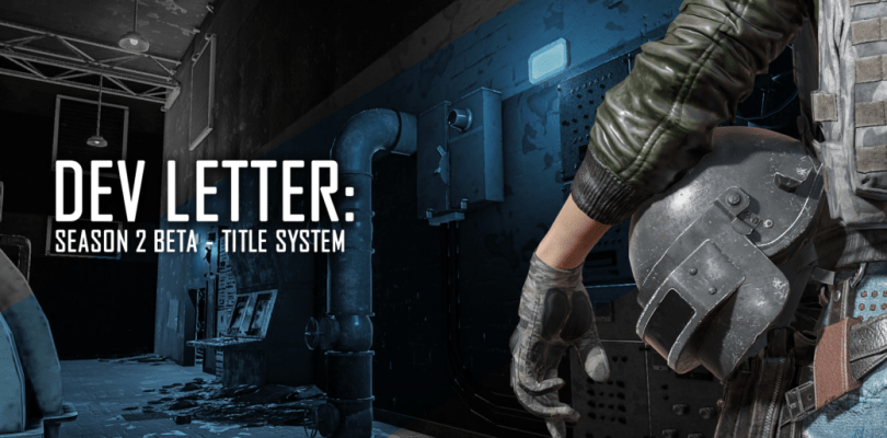 PUBG – Season 2 Rank and Title System
