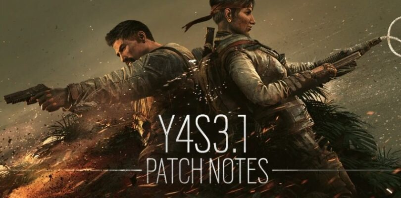 Rainbow Six: Siege – Y4S3.1 Patch Notes | Reverse Friendly Fire