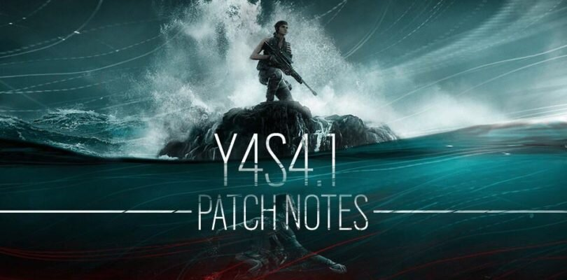 Rainbow Six: Siege – Y4S4.1 Patch Notes