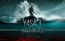 Rainbow Six: Siege – Y4S4.3 Patch Notes