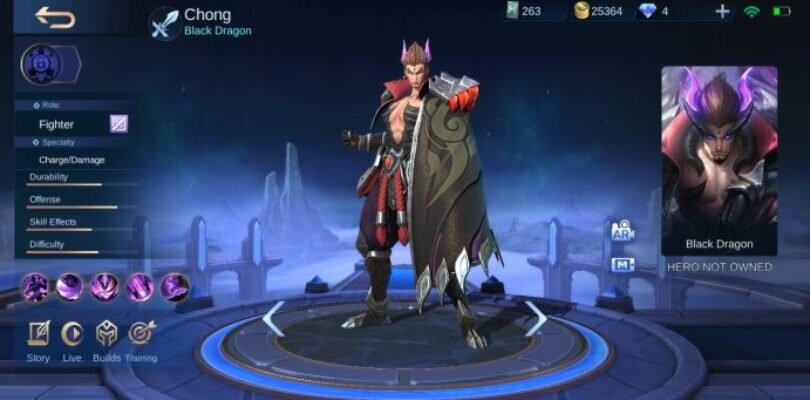 Mobile Legends – 1.4.86 Patch Notes | New Hero Black Dragon