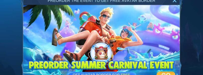Mobile Legends – New Skin & Summer Carnival Event & Fragment Shop Updates