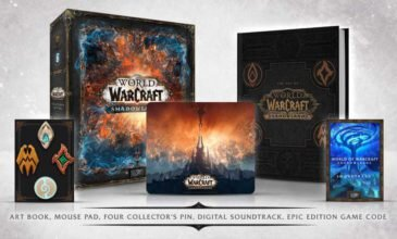 World of Warcraft – Get the Shadowlands Collector's Edition