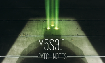 Rainbow Six: Siege – Y5S3.1 Patch Notes