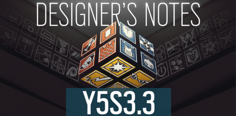 Rainbow Six: Siege – Y5S3.3 Patch Notes | Designer's Notes