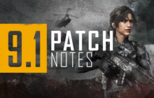 PUBG – 9.1 Patch Notes